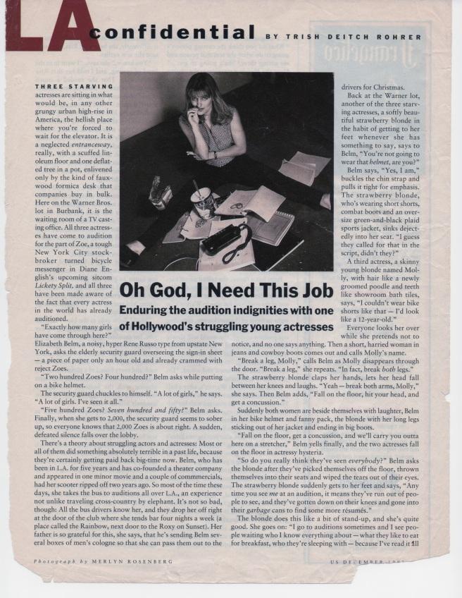 US Magazine, December. 1993