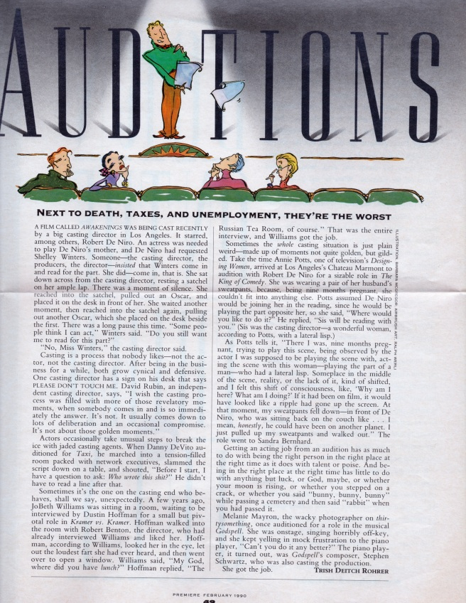 Premiere, February, 1990