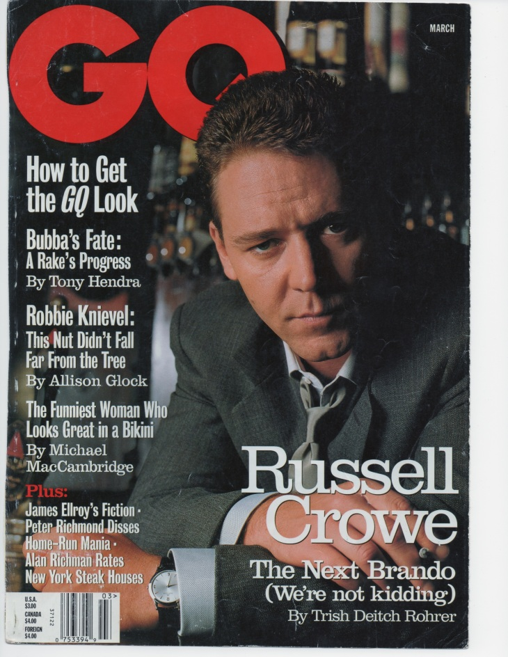 GQ, March, 1998