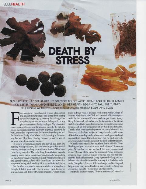 Elle Magazine, circa 2006