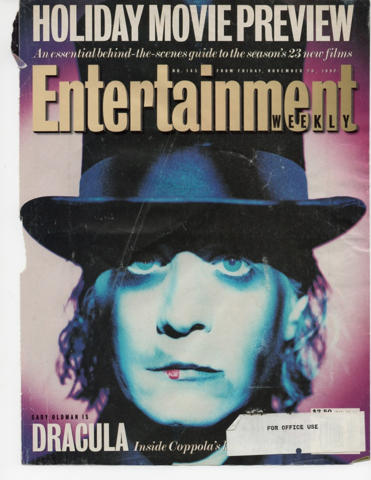 Entertainment Weekly, November, 1992