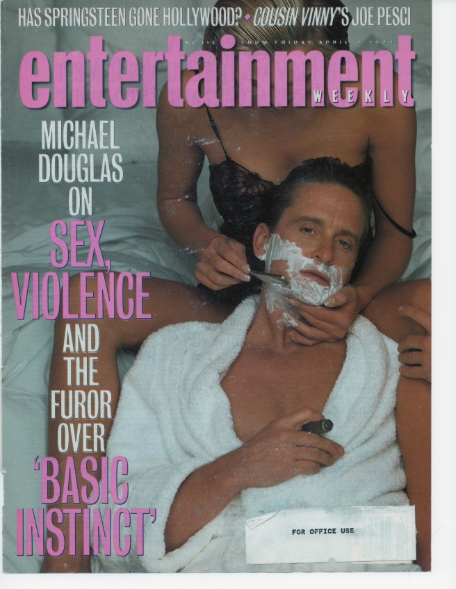 Entertainment Weekly, April, 1992