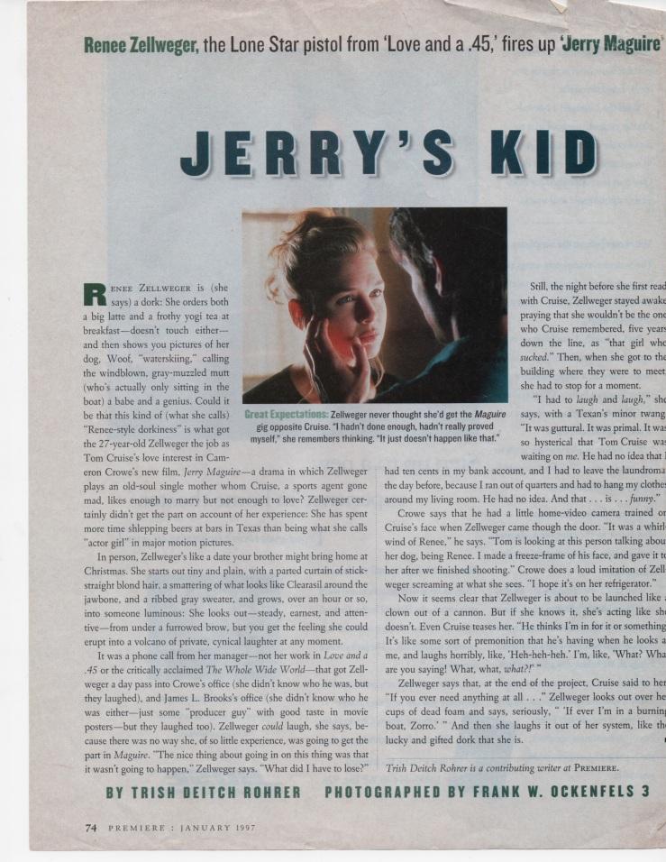 Premiere, January, 1997